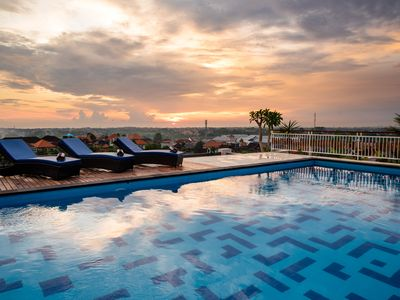 Photo for Cozy Room only 15 Mins Drive to Canggu Beach, 360 Degree View of Canggu!