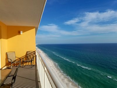 Photo for SPLASH! Ocean Front View! FREE beach chairs+Netflix. 2BD/2BA OWNER Operated!
