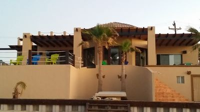 Photo for Beautiful Private  Beachfront Home in Las Conchas. 3 or 4 bedrooms   remodeled