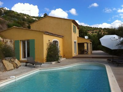 Photo for Villa for 8 people with swimming pool.