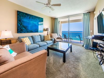Photo for ☀Gulf Front Views @ Majestic 2-1905-3BR☀5 Pools! Aug 18 to 20 $619 Total! FunPass