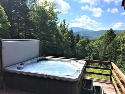 Photo for Stratton Mountain Area - Hot Tub, Spectacular View, Updated Kitchen and Baths
