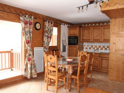 Photo for Superb Champagny apartment in Vanoise / La Plagne Paradiski 4-6 people