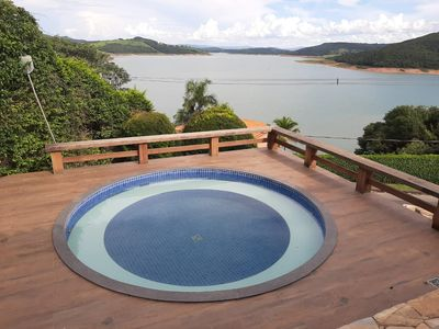 "Photo for HOUSE IN ESCARPAS DO LAGO - CAPITÃ""LIO MG - 6 BEDROOMS BEAUTIFUL VIEW OF FURNAS LAKE"
