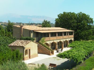 Photo for Old farmhouse in the South of Italy - Altomonte - QUADRUPLE ROOM