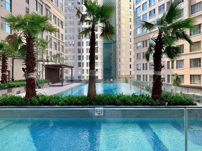 Photo for Modern 2 bedroom Apartment in Center with City view & Outdoor pool, gym Free