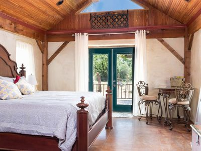 Photo for Absolutely Charming Ritter Haus, Secluded Hill Country Setting with Hot Tub!