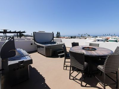 Photo for Luxury Condo in the Heart of Downtown Pismo Beach, Just Built, Rooftop Spa!