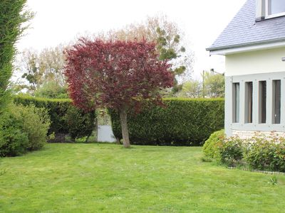 Photo for Villa cabourg very bright large living room and quiet garden