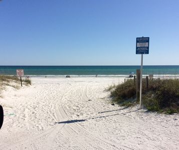 Photo for Studio Condo in 30A Santa Rosa Beach with Ocean View Pets Welcome