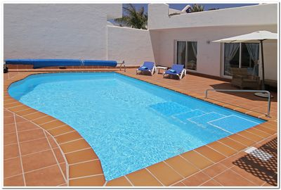 THE ONLY POOLS ON BAHIAZUL WITH THERMAL POOL COVERS TO ENSURE 28c YEAR ROUND.
