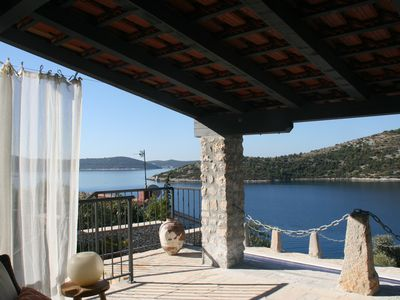 Photo for Magical Seaview Villa with pool and private jetty near Split airport