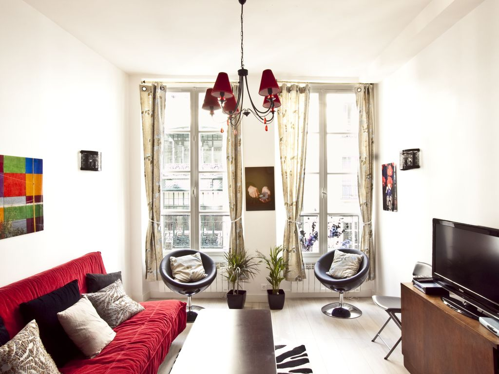 Lovely 1bdr in the heart of Paris: Lovely 1bdr in the heart of Paris ...