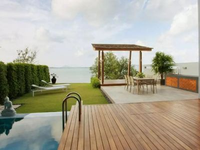 Photo for Rawai Beachfront Luxury 3 Bedroom Villa