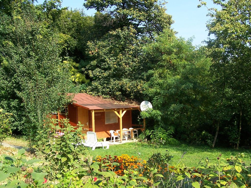 Holiday House In The Naturist Nudism Bungalow Park With Pool