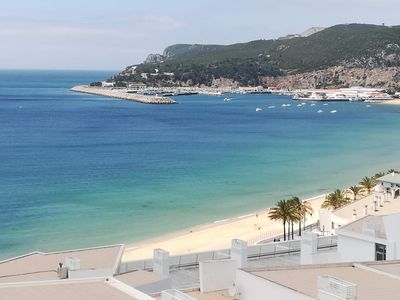 Photo for Apartment with terrace sea view - 2 min from the beach