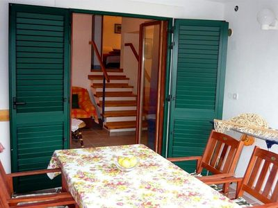 Photo for House 1.1 km from the center of Dvornica with Internet, Air conditioning, Parking, Terrace (352716)