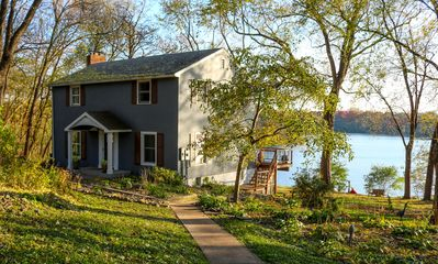Tranquility awaits you at this home right on the lake!