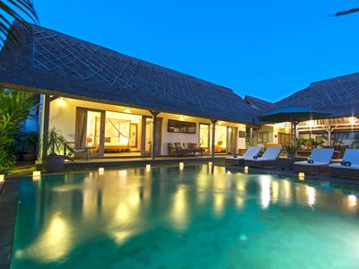 Photo for VDM - 2 BR Private Pool Villa in Seminyak,  walking distance to the beach