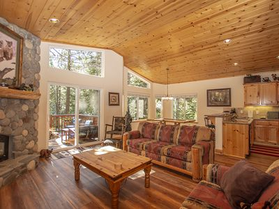 Photo for Lovely 3br, 2.5ba Dog-Friendly Home with Hot Tub on Tahoe's Beautiful West Shore