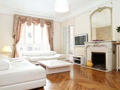 Photo for Elegant Three-Bedroom Flat in the Heart of the Latin Quarter, Pantheon, St.Germain