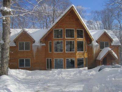 Photo for Stunning Ski Chalet minutes from Mt. Snow