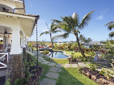 Photo for Kukuiula Makai Cottage #29: Sophisticated Elegance with AC and Pool in Poipu!