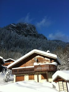 Photo for Traditional ski chalet. Open plan living. WIFI, Wii, iPad, Sat TV & Multipass