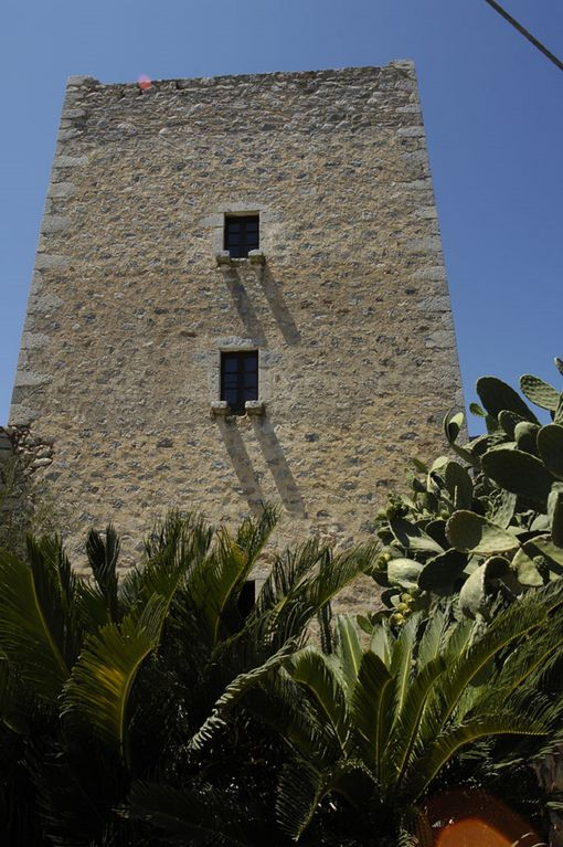 Tower House in traditional village