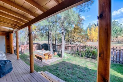 BACKYARD OPEN TO MILES OF HIKING TRAILS