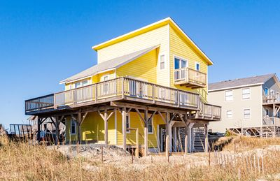 Photo for K1128 Sun Trippin' OCEANFRONT, Large Sun Decks, Well Cared For!