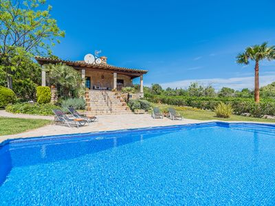 Photo for Child Friendly, Traditional Stone 3 Bedroom Villa in Son Fe