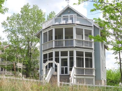 Photo for Beachwalk at its best! Lake Views, screen porch, room for large families
