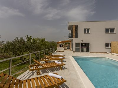 Photo for Modern villa for 10 people at Split area near Trogir and airport