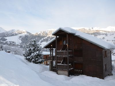Photo for Large Apartment 400m from the Ski Slopes