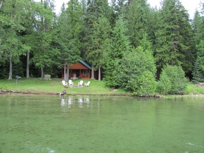 Photo for Bull Lake Hideaway-Cozy Lakefront Cottage in the Cabinet Mts