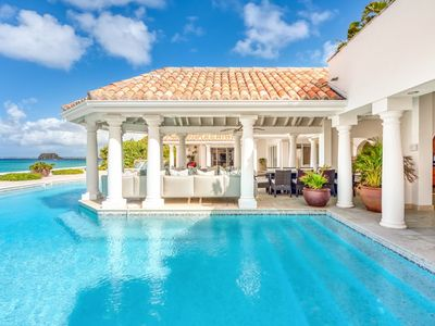 Villa Petite Plage 5  -  Beach Front - Located in  Wonderful Grand Case with Private Pool