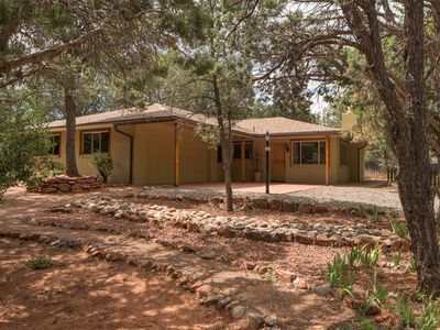 Photo for Cute Casita in Sedona - Green and Shaded Outdoors-Feel like home away from home