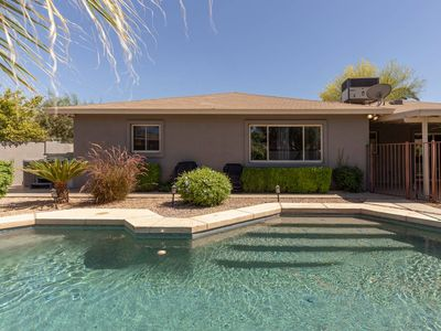 Photo for Hip Hacienda with Putting Green, Pool & Spa