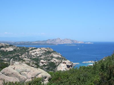 Photo for MAY OFFER Costa Smeralda THE CASINA DEL SOLE with a view of the Maddalena Archipelago