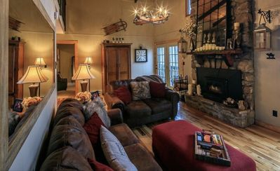Photo for New Listing- Magnificent Cabin on Beech Mountain with Hot Tub/Game Room