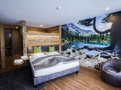 Photo for Luxury Apartment Lodge with Terrace, Mountain View and Spa Access