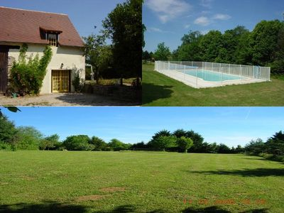 Photo for Pretty barn conversion-Le Faucon - Large Shared Pool