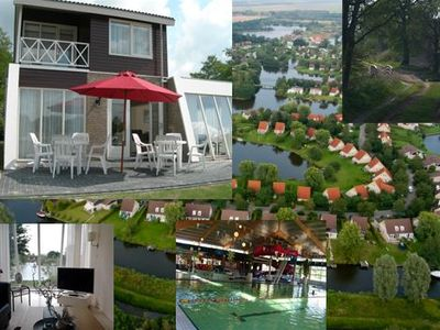 Photo for Free 8 p. Villa with terrace and garden by the water, free wifi + swimming pool