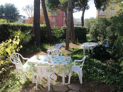Photo for Just 200 meters from the sea, with private garden and parking space