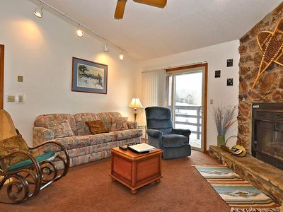 Photo for Loft at the Lift, 2 Bedroom Condo mere steps from the ski lift at Timberline!