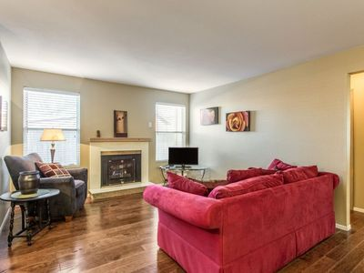 Photo for Cozy and Peaceful Apt. Across from Vet's Park & Near Downtown (102)