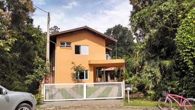 Photo for Bela Casa - Guaratuba Beach - Bertioga with 4 suites air conditioning
