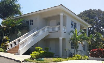 Photo for 8BD guest-friendly complex with pool and sports courts, near everything in Sosua