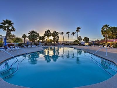 Photo for Indian Palms Condo w/ Pvt. Patio+Resort Amenities!